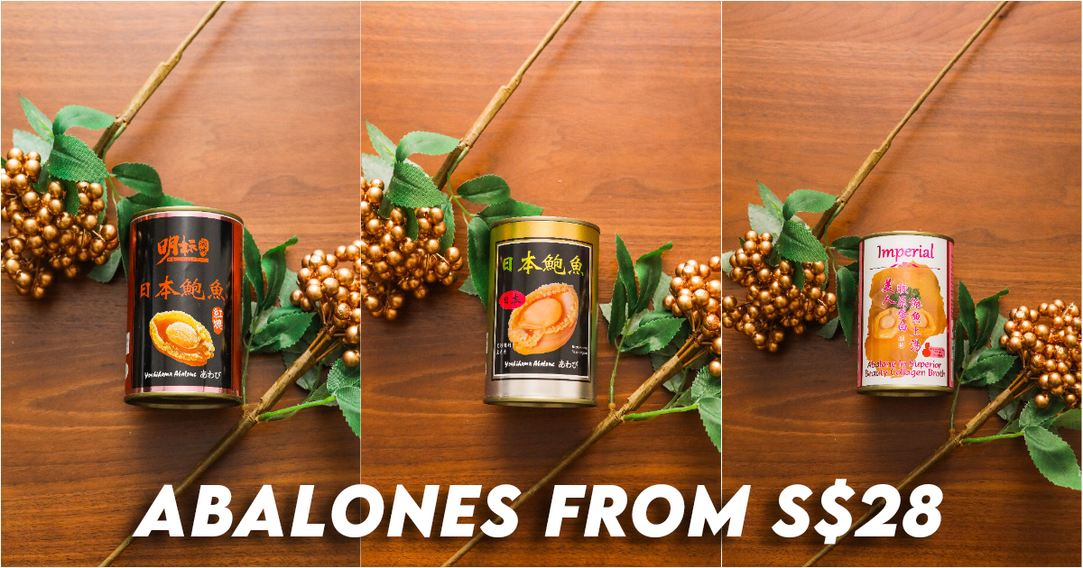 Snacks Delivery Best Canned Abalone Singapore