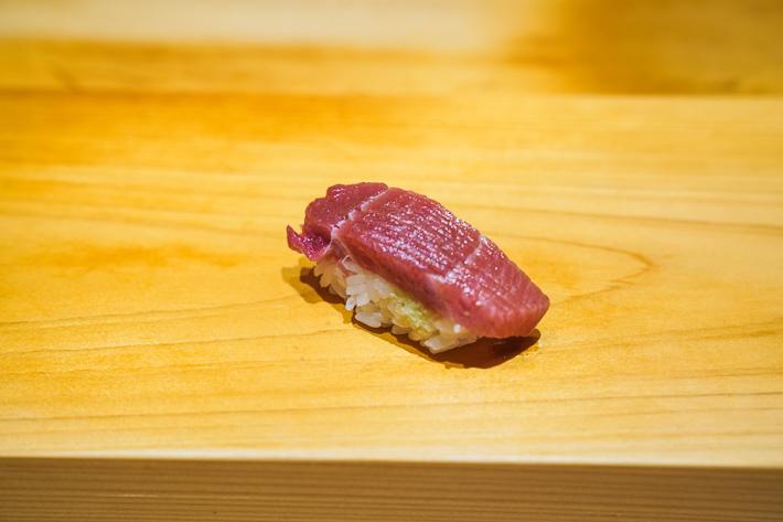 Ashino marinated tuna in soy sauce