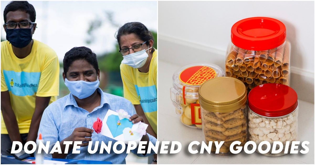 Donate CNY Goodies Migrant Workers