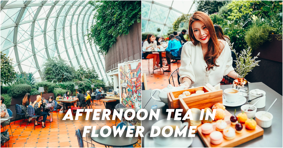 Fennel Cafe Flower Dome Afternoon Tea