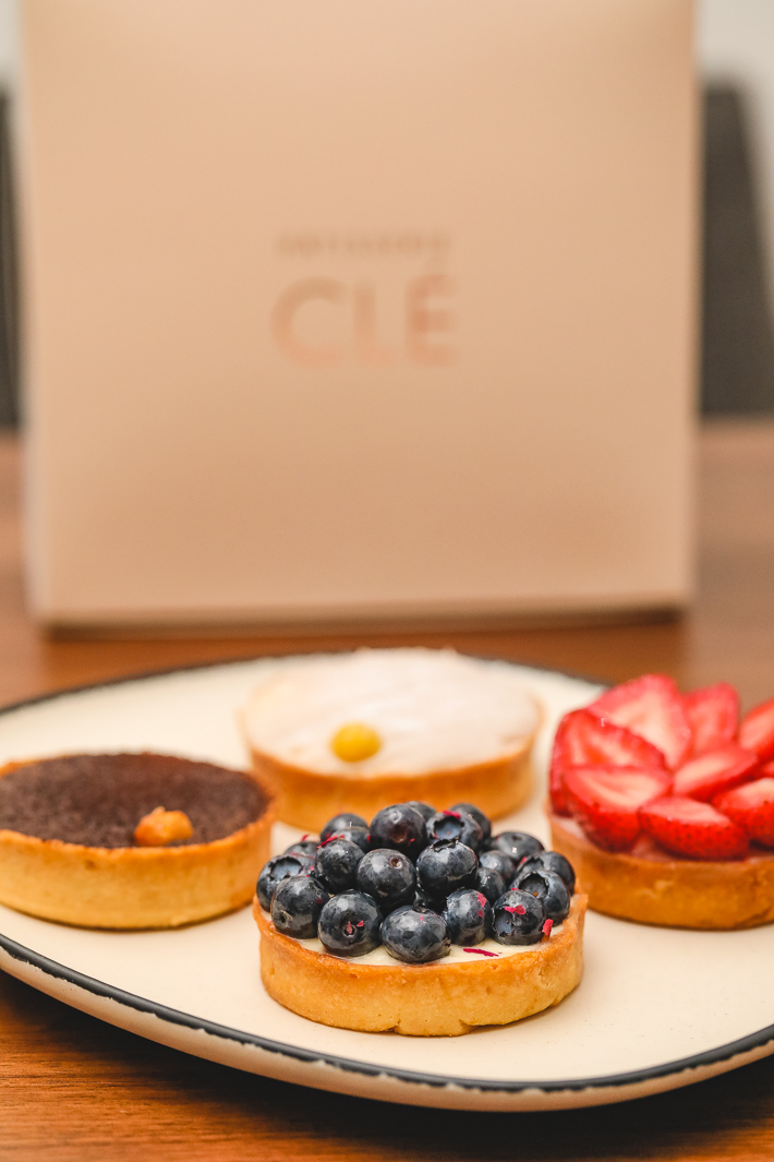 Patisserie Cle Tarts
