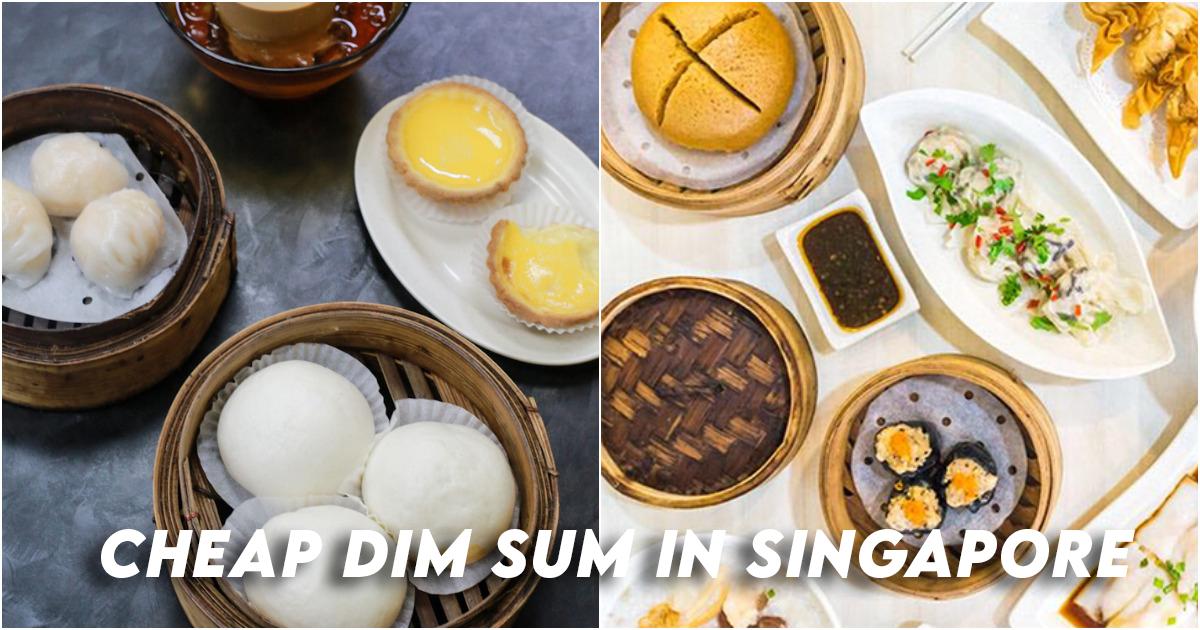 Cheap dim sum Singapore