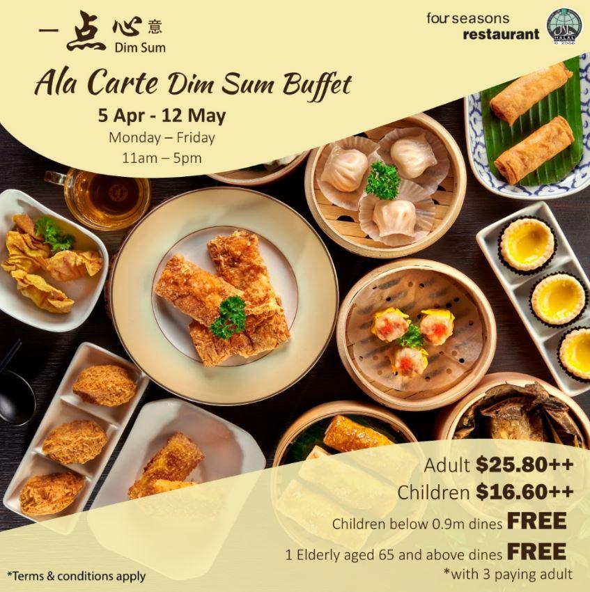 Four Seasons Restaurant Halal Dim Sum Buffet
