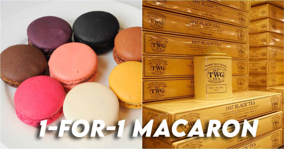 TWG 1-for-1 Macaron