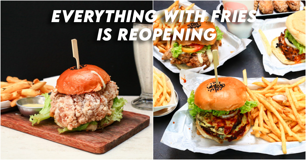 Everything with fries