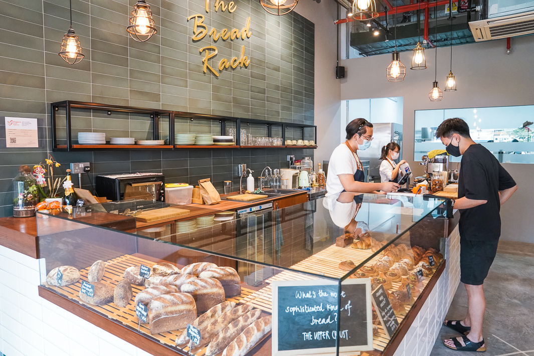 The Bread Rack Interior Counter