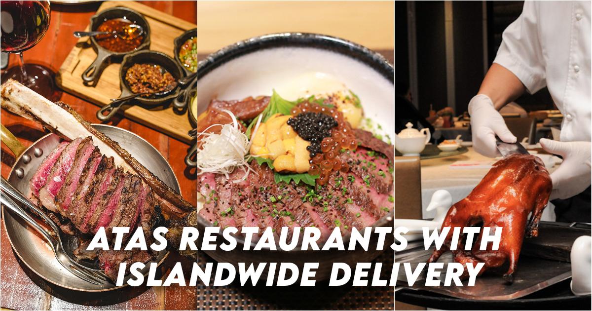 Atas Restaurants with islandwide delivery