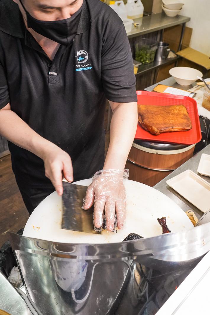 Laifabar chopping roast meat