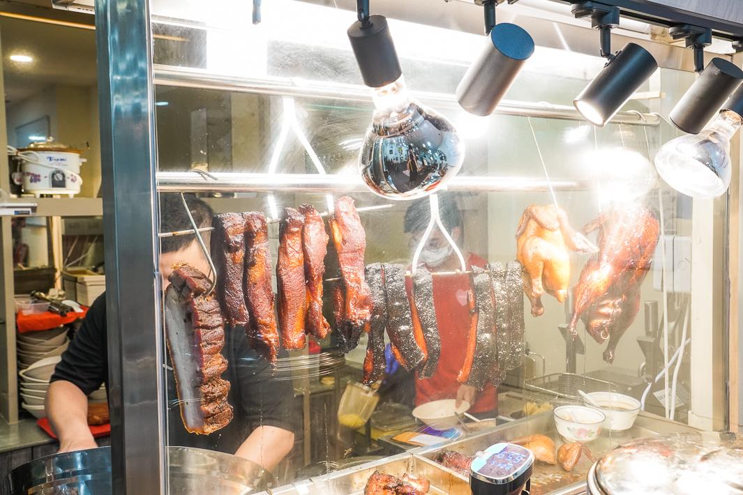Laifabar roast meat display