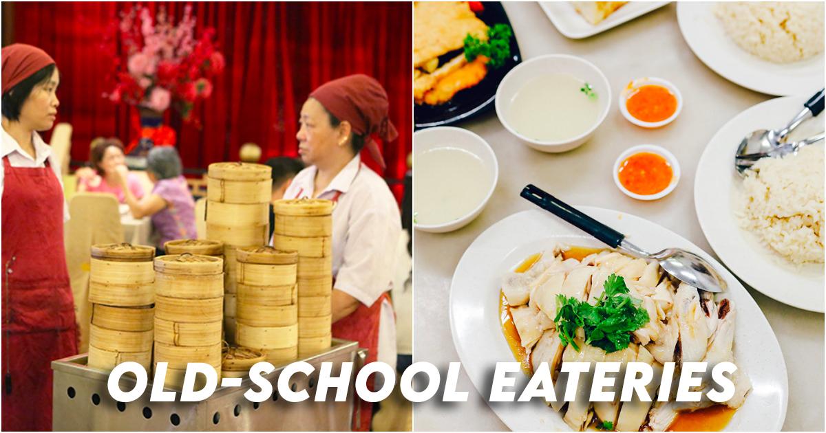 Old-school eateries singapore