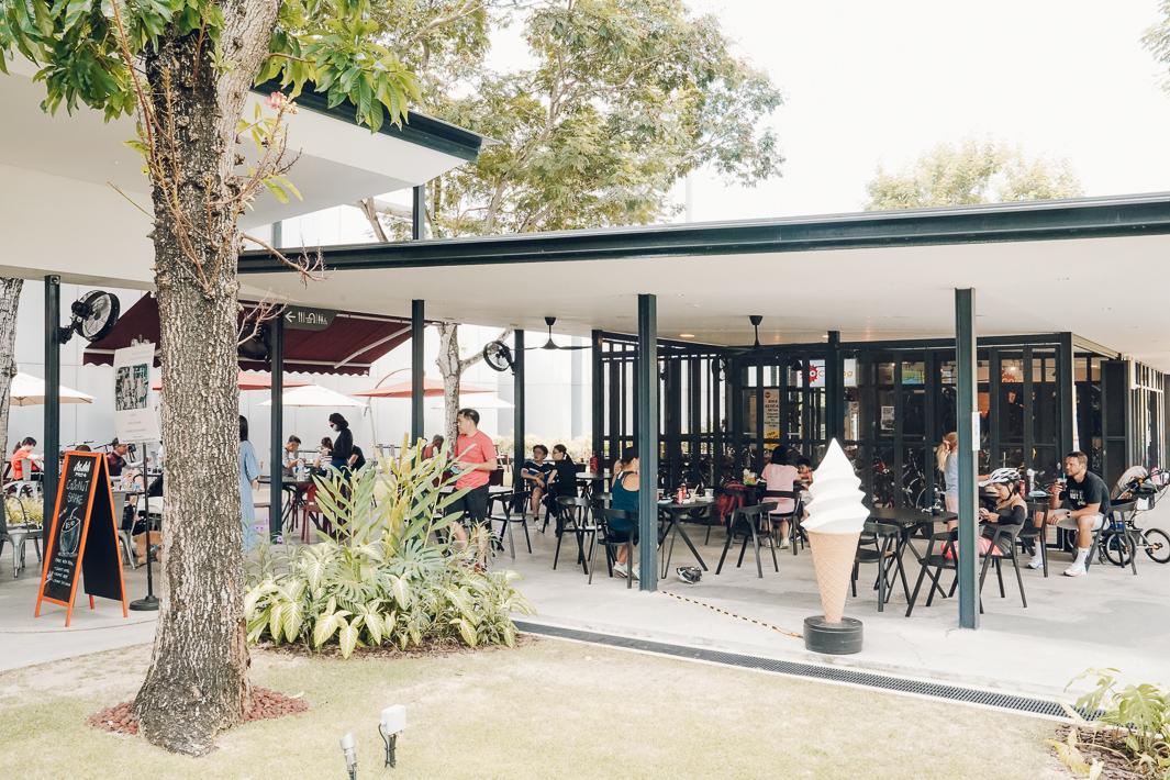 HUB & SPOKE Outdoor Area
