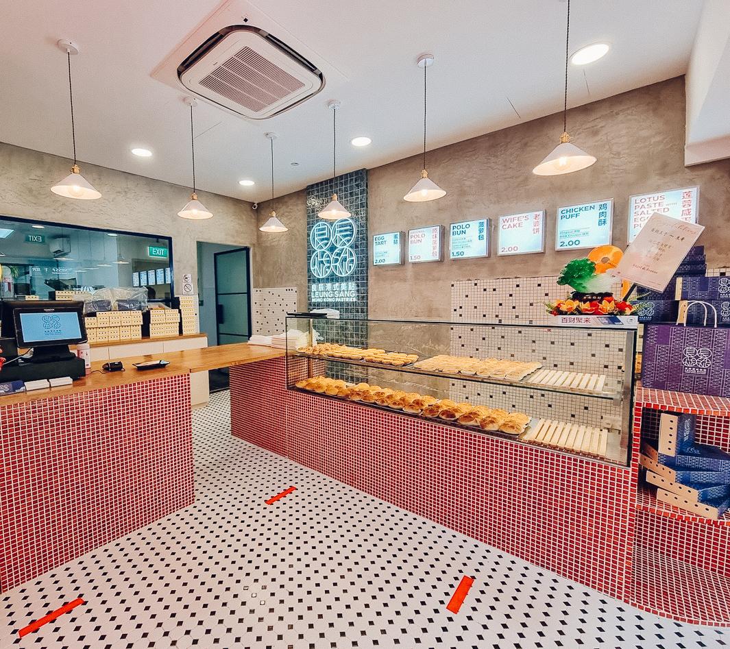 Leung Sang HK Pastries Bugis Outlet