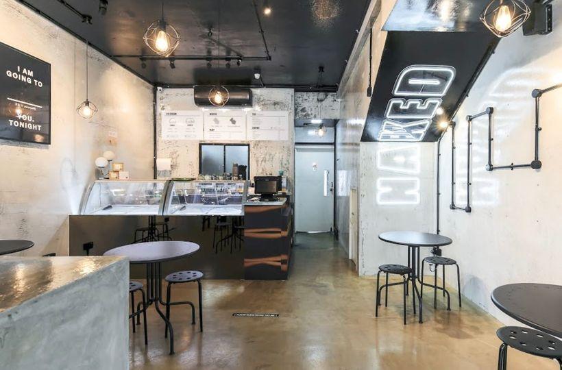 Naked Ice Cream Cafe Interior