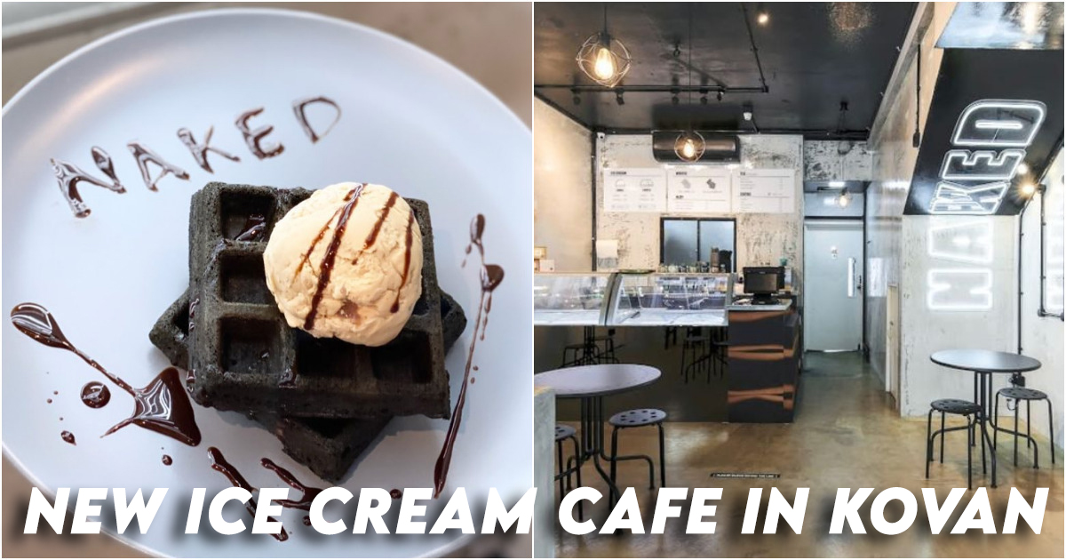 Naked Ice Cream Cafe Kovan