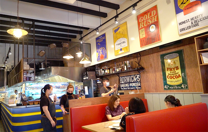 The Market Grill interior