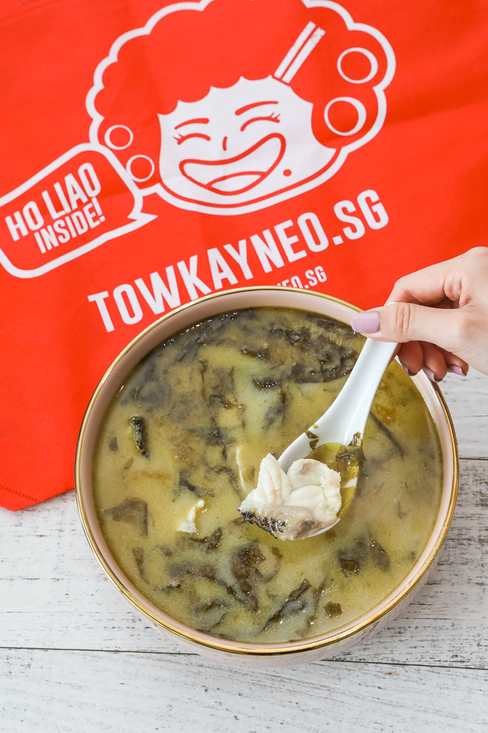 Tow Kay Neo Giant Grouper Fish Broth