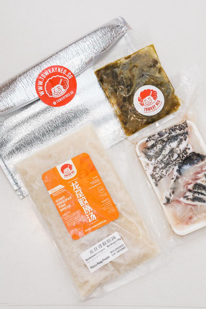 Tow Kay Neo Sichuan Poached Fish Bundle Kit