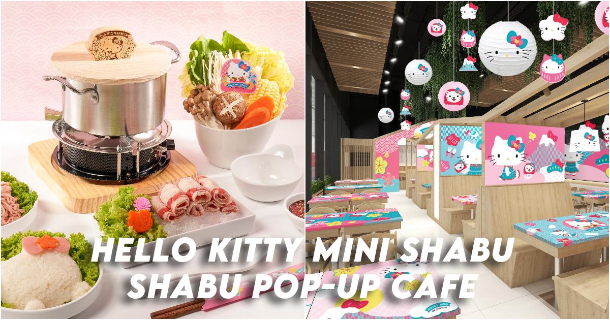 Hello Kitty Mini Shabu Shabu Pop-up Cafe
