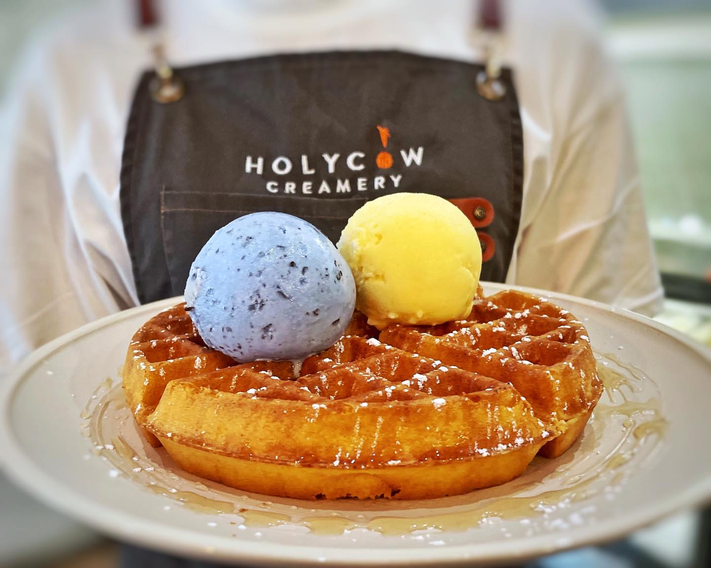 Holy Cow Creamery Waffles