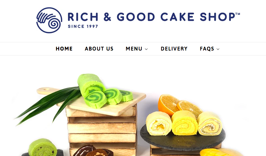 Rich and Good Cake Online Shop
