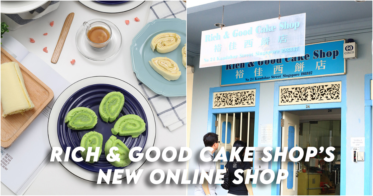 Rich and Good Cake Shop