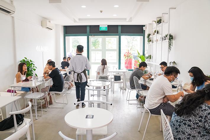 Glacier Cafe Interior