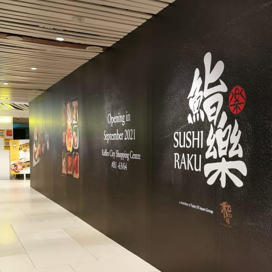 Sushi Raku Raffles City