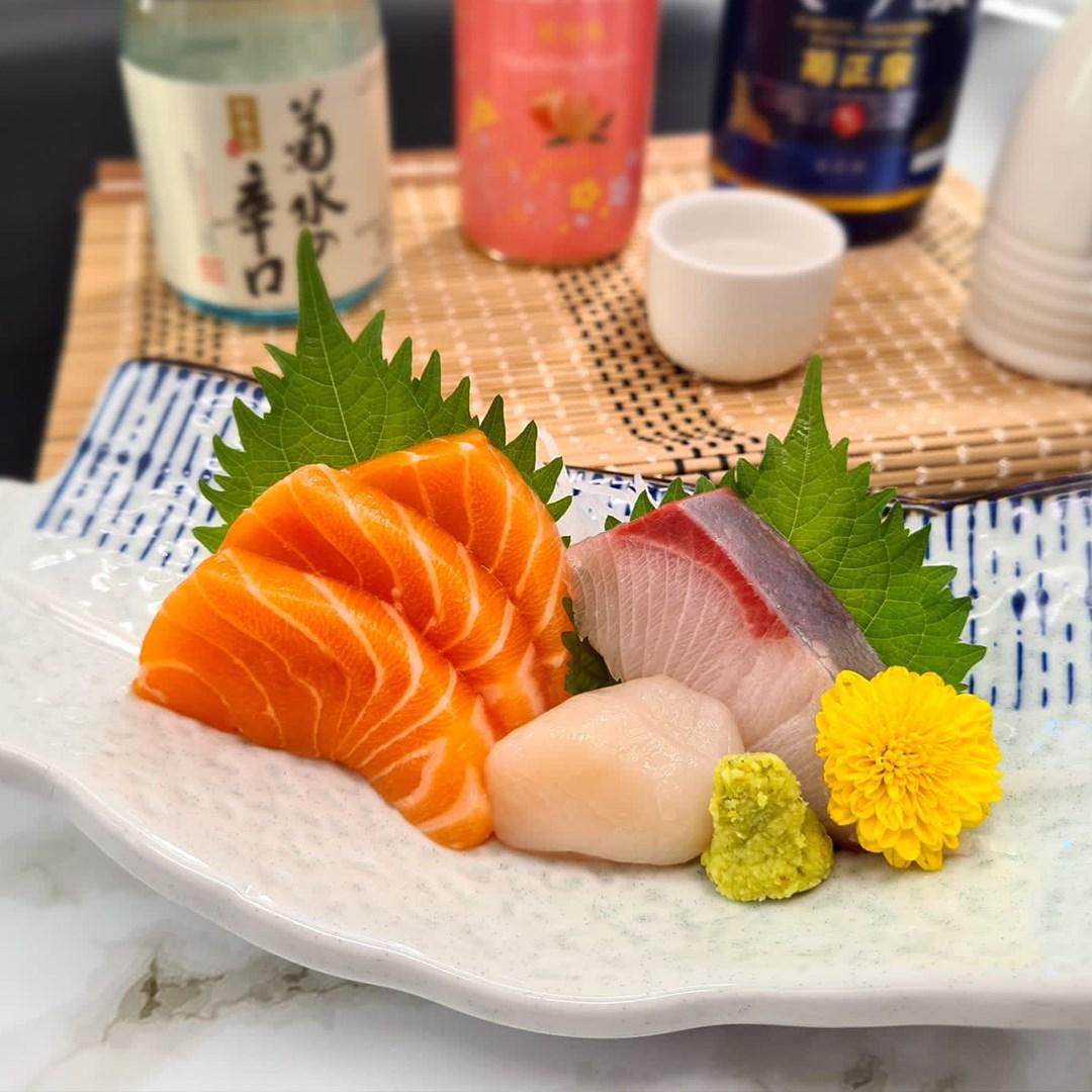 Sushi Raku Sashimi