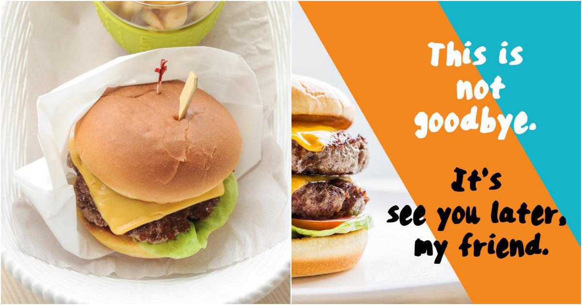 Omakase Burger Closing