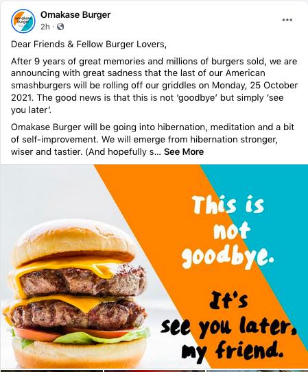 Omakase Burger FB