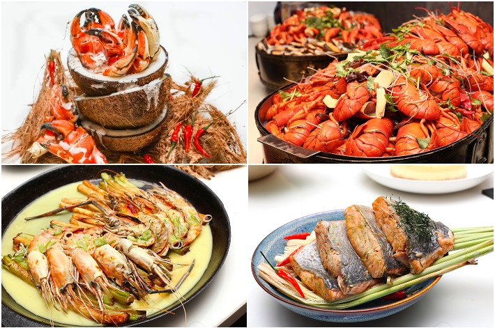 GINGER Crab & Lobster Buffet