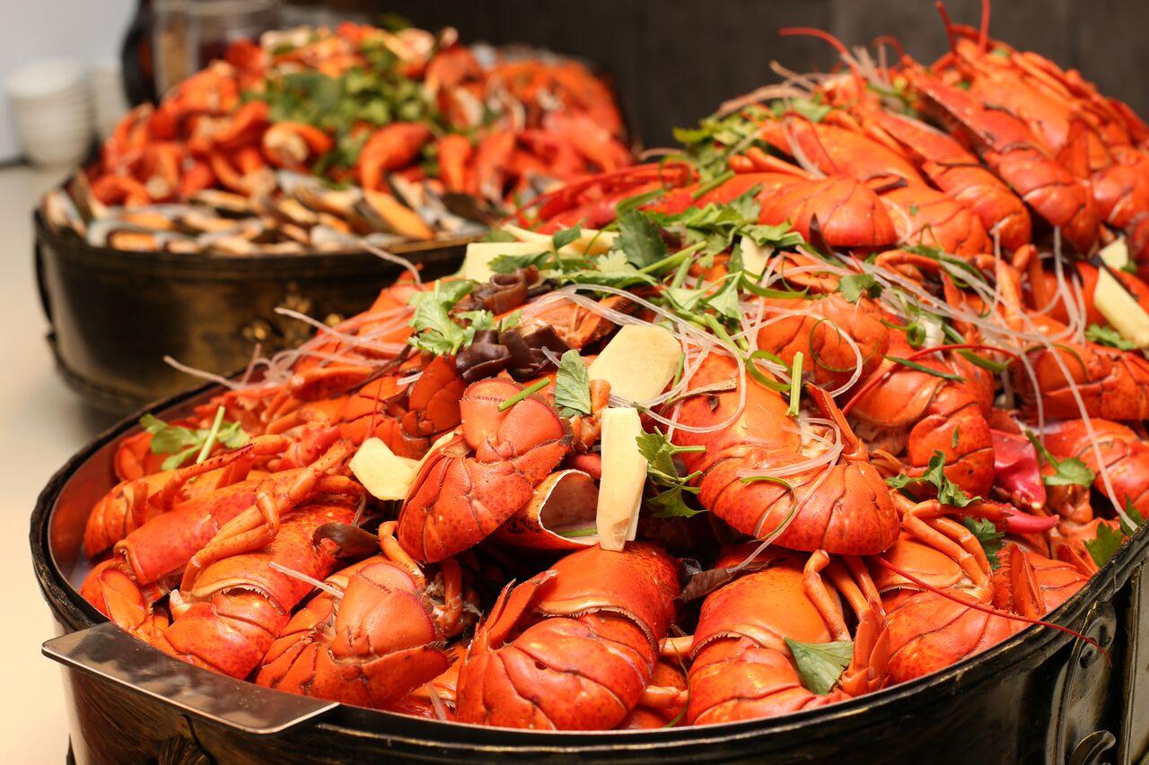 Ginger Lobster Buffet