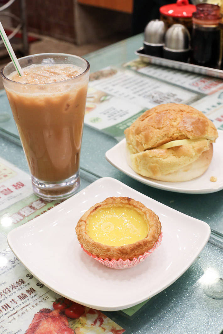 Hong Lin Egg Tart Pineapple Bun