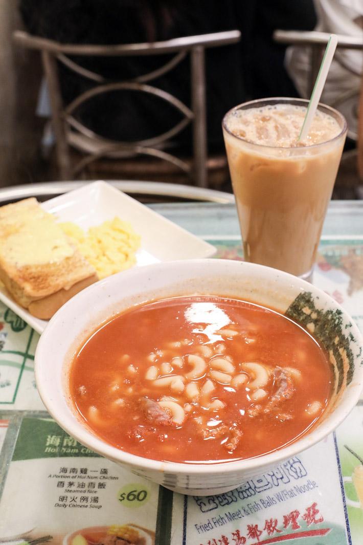 Hong Lin Tomato Macaroni Soup
