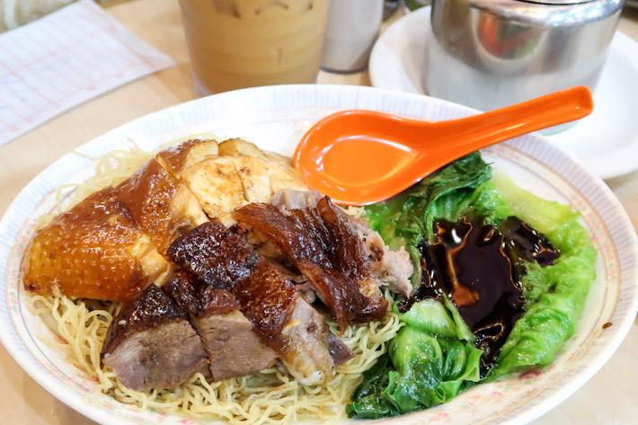 Yat Lok Roast Goose Noodle