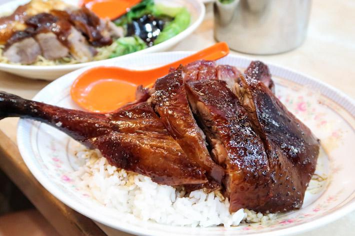 Yat Lok Roast Goose Rice