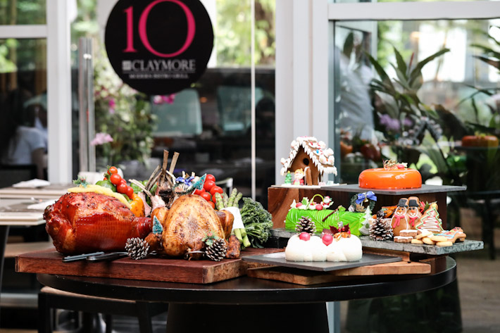 10 at Claymore Festive Buffet