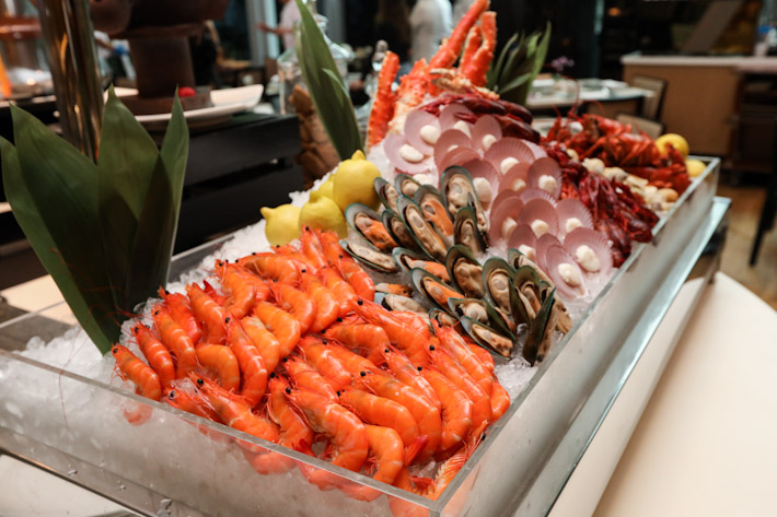 Pan Pacific Orchard Seafood Buffet