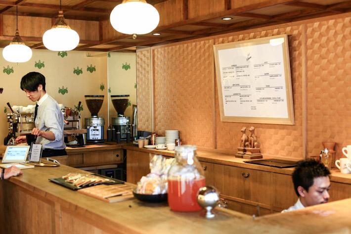 Cafe Kitsune Interior