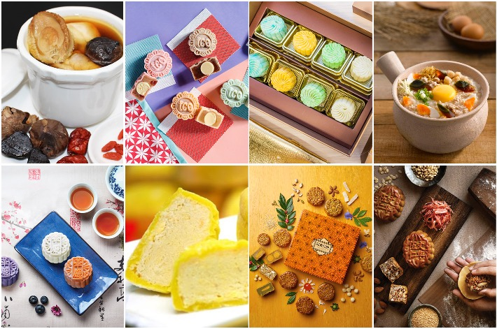 Fave Mooncake Collage