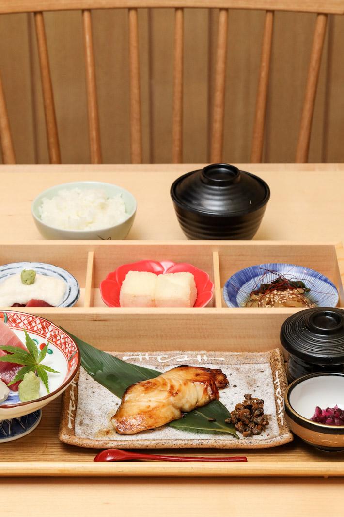 Sushi Jiro Gindara Lunch Set