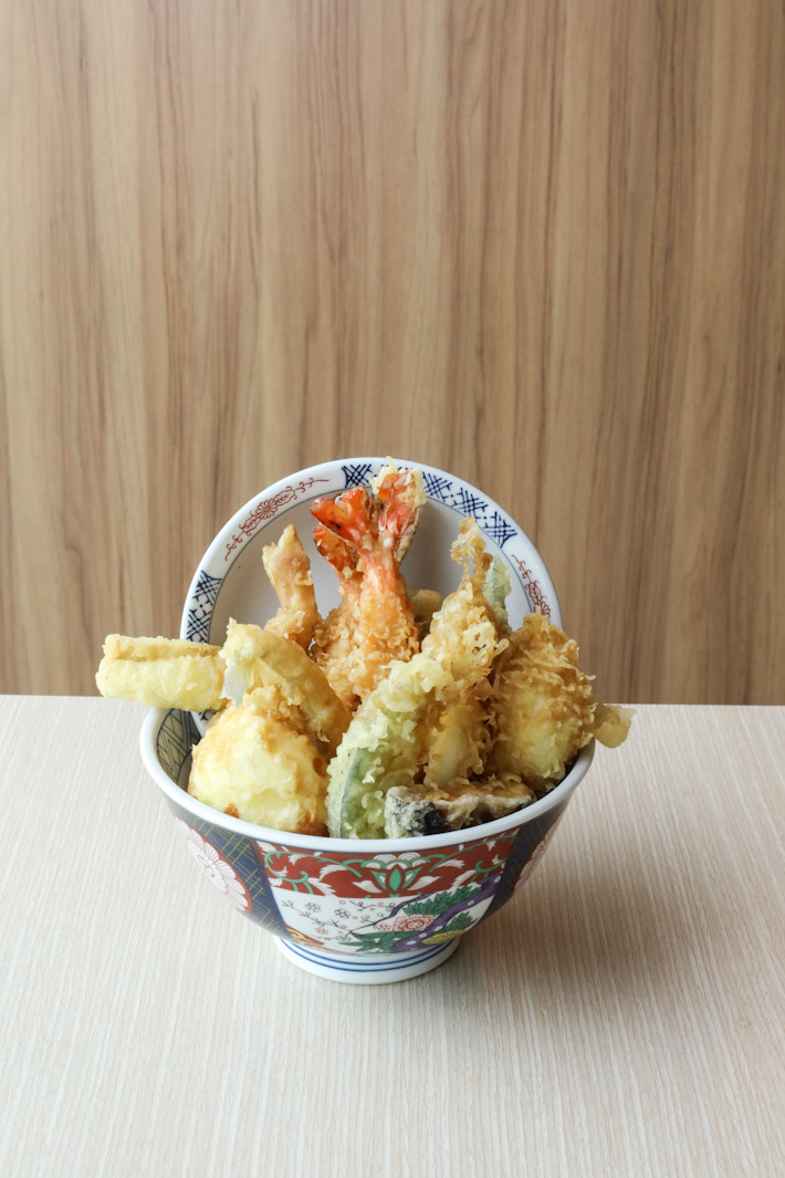 Tsukiji Fish Market Tendon