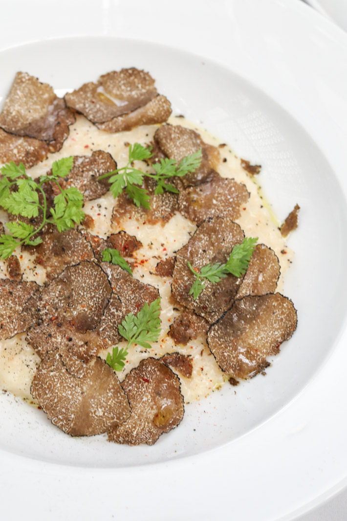 mezza9 Grand Hyatt White Truffle Risotto