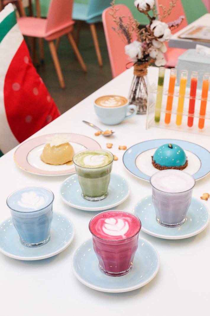 Fresh Fruits Lab Coloured Latte
