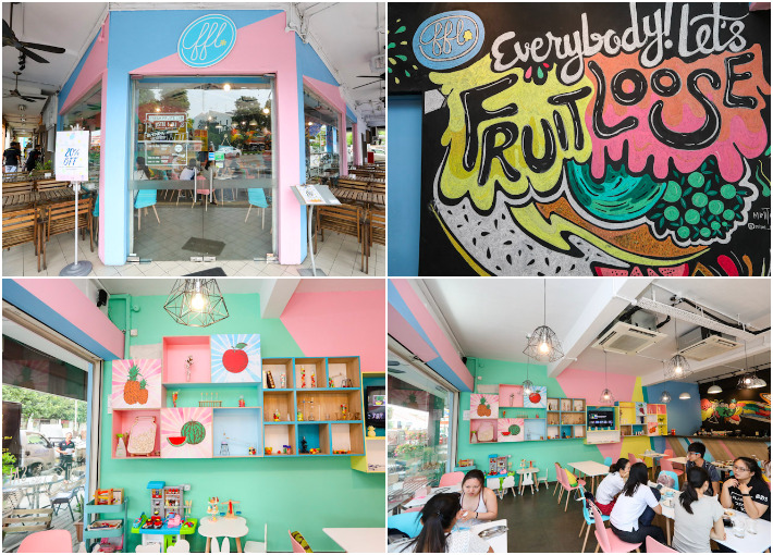 Fresh Fruits Lab Pastel Interior