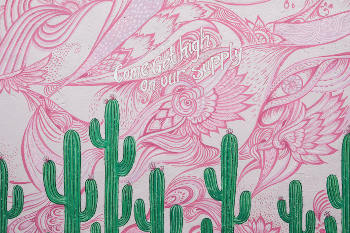Coffee Cartel Wall Mural