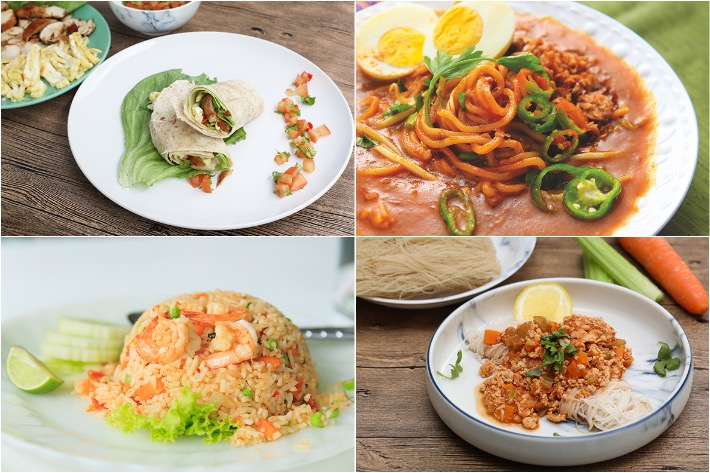 Healthy Recipes Collage