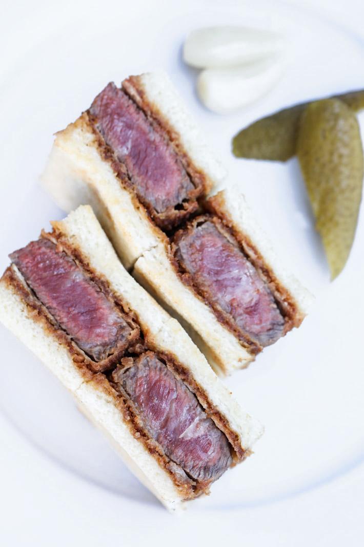 Wagyumafia Wagyu Sandwich
