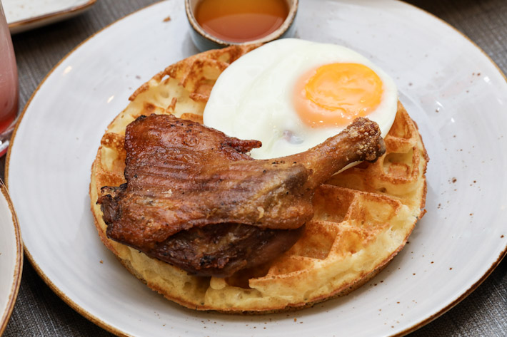 Duckland Duck & Waffles
