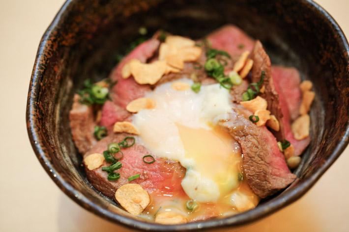 Sushi Jiro Wagyu Don Onsen Egg